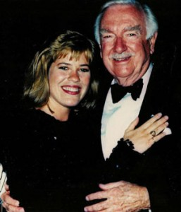 Sonya Snyder with Walter Cronkite